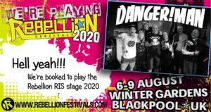 DANGER!MAN @ Blackpool Rebellion 2020