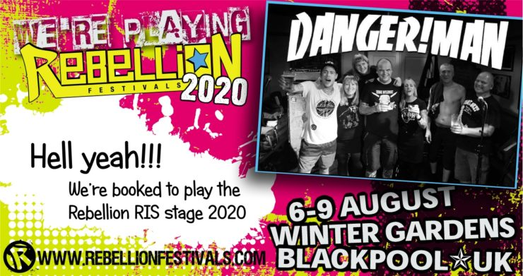 DANGER!MAN @ Blackpool Rebellion 2020