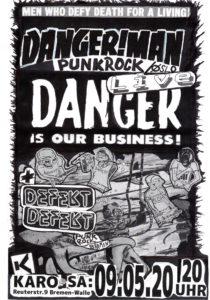 DANGER!MAN + DEFEKT DEFEKT